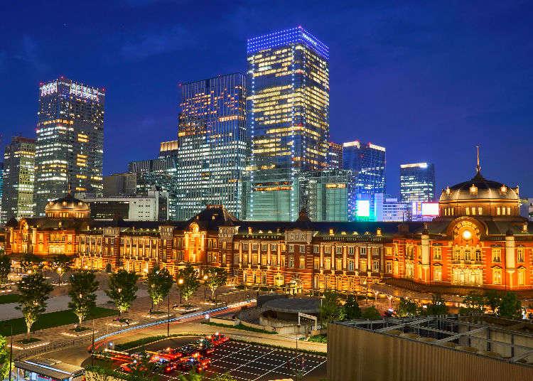 Deretan Bangunan Gedung Menakjubkan di Tokyo