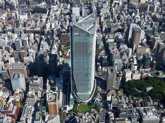 Gedung Tertinggi di Tokyo Pada Saat Ini I