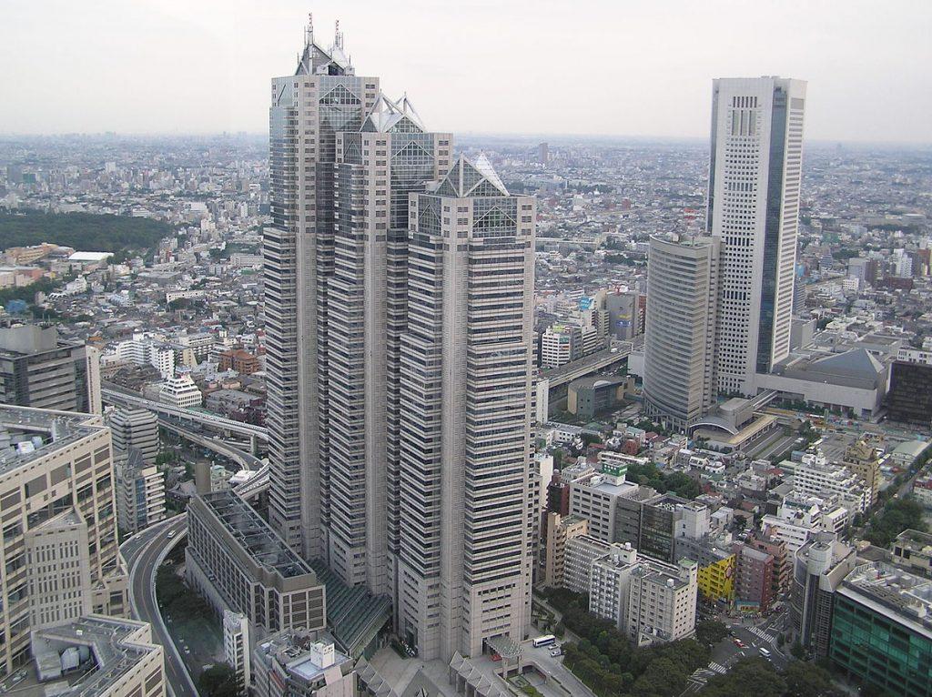 Gedung Tertinggi di Tokyo Pada Saat Ini II