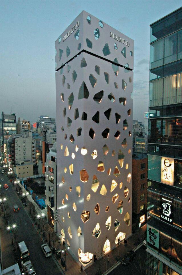 Gedung Unik Yang Berdiri di Tokyo II