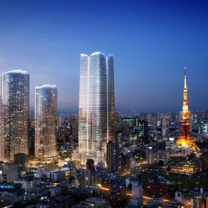 Menara Tokyo Menjadi Gedung Pencakar Langit Tertinggi Baru di Jepang